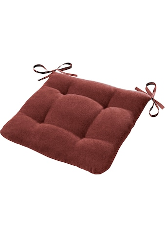 Dohle&Menk Sitzkissen »Ontario«, mit Bändern zum befestigen kaufen