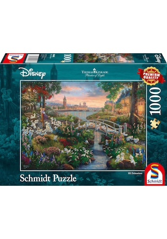 Schmidt Spiele Puzzle »Disney, 101 Dalmatiner«, Made in Germany kaufen