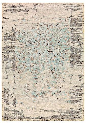 Arte Espina Teppich »Damast 8067«, rechteckig, 12 mm Höhe, Vintage Optik, Wohnzimmer kaufen