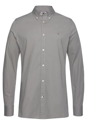TOMMY HILFIGER Langarmhemd »SLIM STRETCH POPLIN SHIRT« kaufen