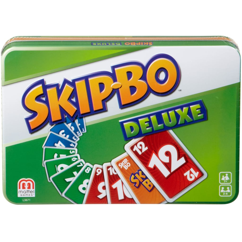 Mattel games Spiel »Skip-Bo Deluxe Metallbox«