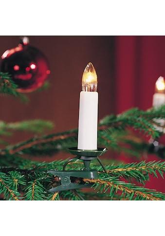 KONSTSMIDE LED Baumkette, Topbirnen, teilbarer Stecker kaufen
