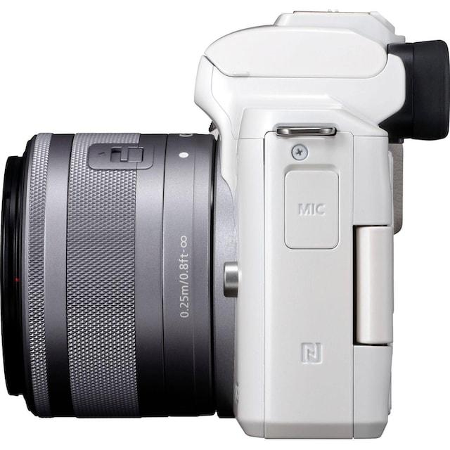 Canon »EOS-M50 EF-M15-45 Kit« Systemkamera (EF-M 15-45, 24,1 MP, NFC WLAN (Wi-Fi) Bluetooth)