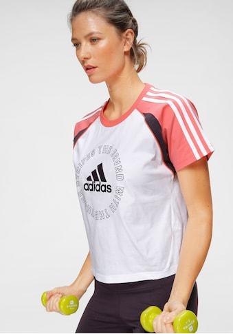 adidas Performance T - Shirt »LOGO TEE« kaufen