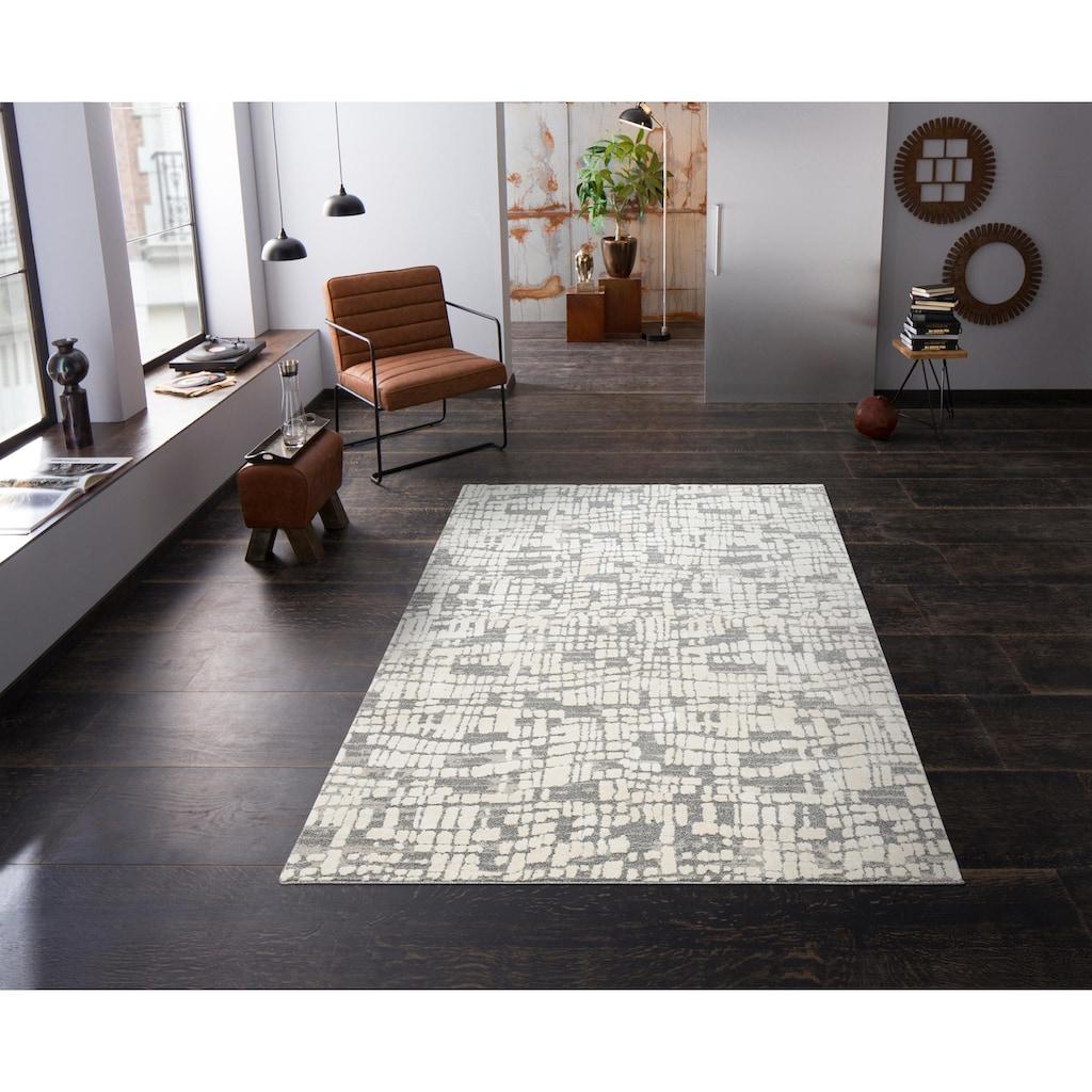 Bruno Banani Teppich »Alraune«, rechteckig, 20 mm Höhe, Wohnzimmer