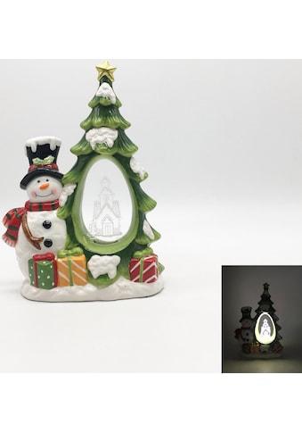BONETTI LED Dekoobjekt »Tannenbaum«, Warmweiß, mit Acryl-Dekoration kaufen
