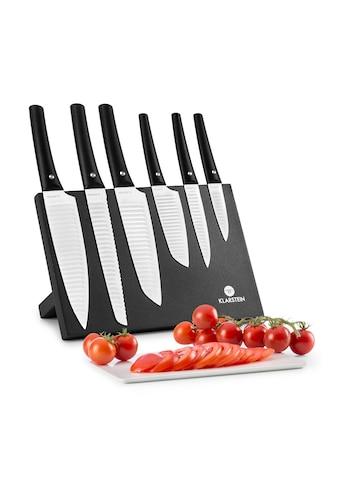 Klarstein Messerset 7-tlg Magnetblock Keramikversiegelung kaufen