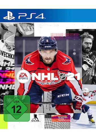 Electronic Arts Spiel »NHL 21«, PlayStation 4 kaufen