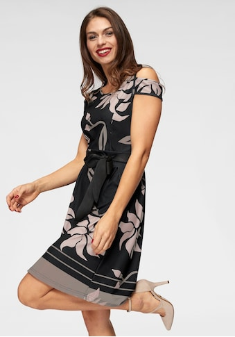 Aniston SELECTED Jerseykleid, mit Bindegürtel kaufen