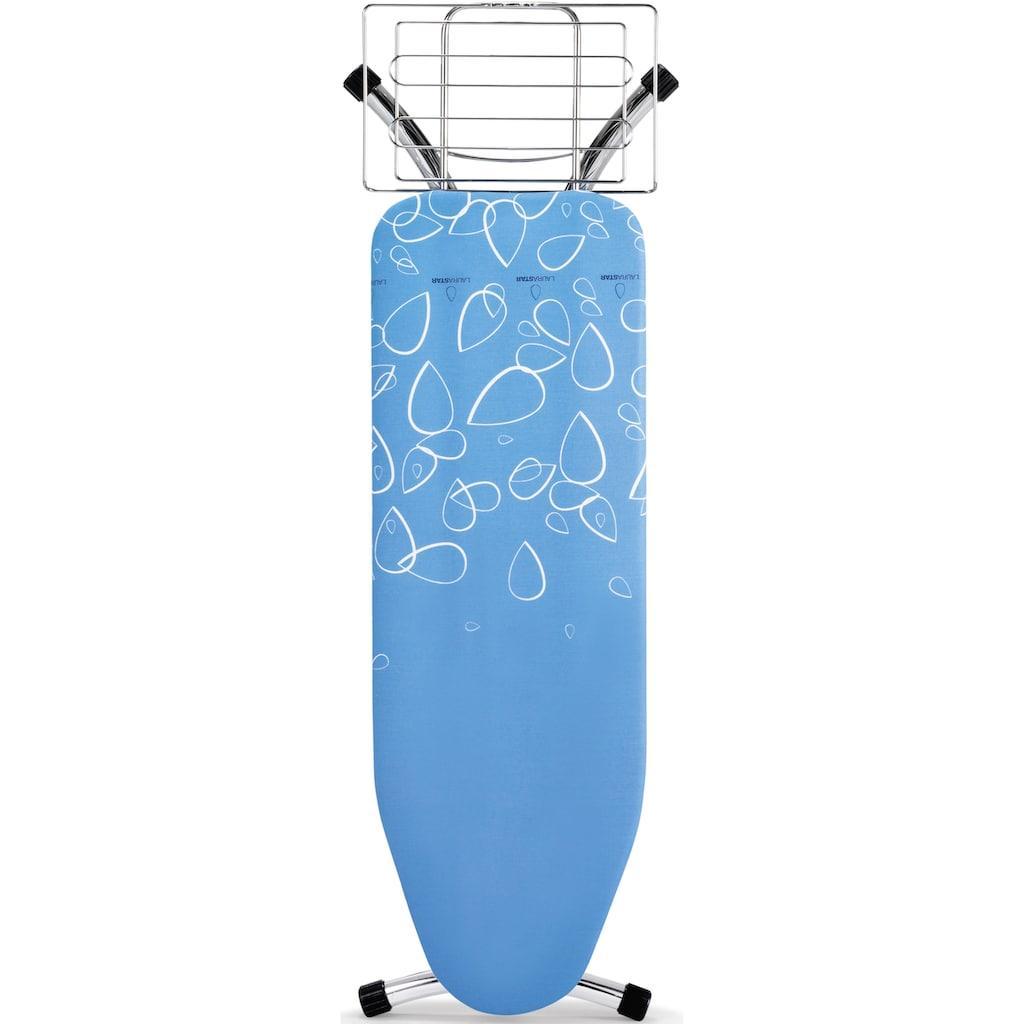 LAURASTAR Bügelbrett »Prestigeboard«, Bügelfläsche 122 cmx40 cm, Wäscheablage am Gestell