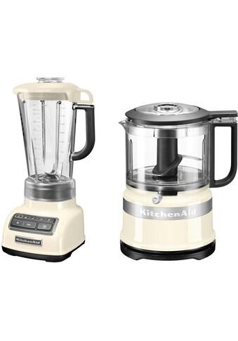 KitchenAid Standmixer »5KSB1585EAC und Mini Zerkleinerer 5KFC3516«, 550 W,... kaufen