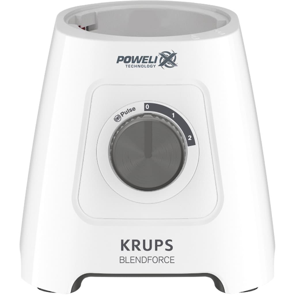 Krups Standmixer »KB42Q1 Blendforce 2in1«, 600 W