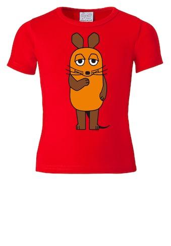 LOGOSHIRT T-Shirt »Die Maus«, mit lizenziertem Originaldesign kaufen