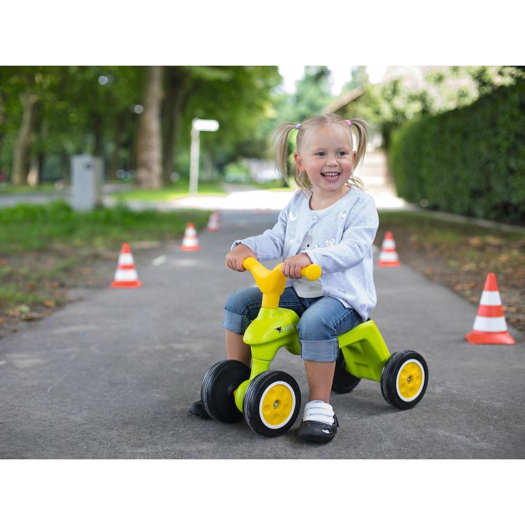 BIG Rutscherauto »BIG Rider + BIG Shoe Care, grün/gelb«, Made in Germany