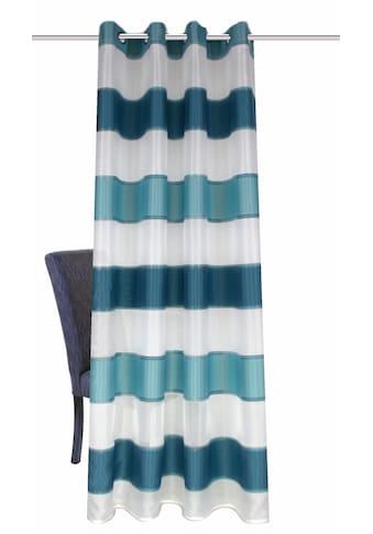 Vorhang, »MIRABELLA«, HOME WOHNIDEEN, Ösen 1 Stück kaufen