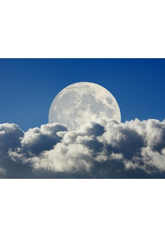 Papermoon Fototapete »Big Moon and Clouds« kaufen