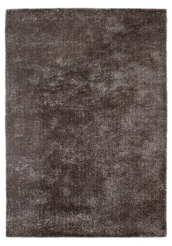 Andiamo Hochflor-Teppich »Monroe«, rechteckig, 25 mm Höhe, besonders weich durch Microfaser, Wohnzimmer kaufen