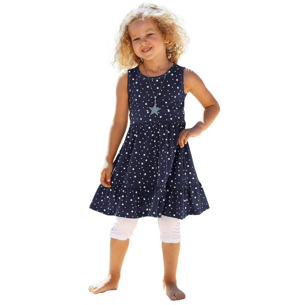 KIDSWORLD Jerseykleid, (Set, 2 tlg.), mit Haarband