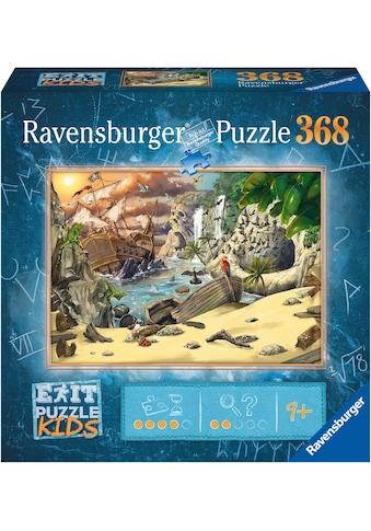 Ravensburger Puzzle »EXIT Puzzle Kids Das Piratenabenteuer«, FSC® - schützt Wald -... kaufen