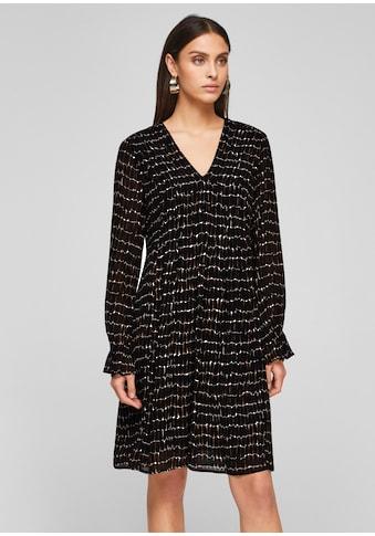 s.Oliver BLACK LABEL Chiffon-Kleid kaufen