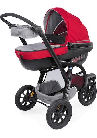 Chicco Kombi-Kinderwagen »Trio-System Activ3 Top, Red Berry«, mit Regenschutz;... kaufen