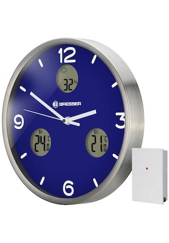 BRESSER Wanduhr »MyTime io NX mit Thermometer und Hygrometer«, Wanduhr kaufen