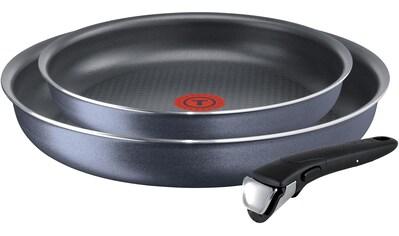 Tefal Pfannen-Set »Ingenio Elegance«, Aluminium, (Set, 3 tlg.), abnehmbarer Griff, Thermo-Spot Temperaturindikator kaufen