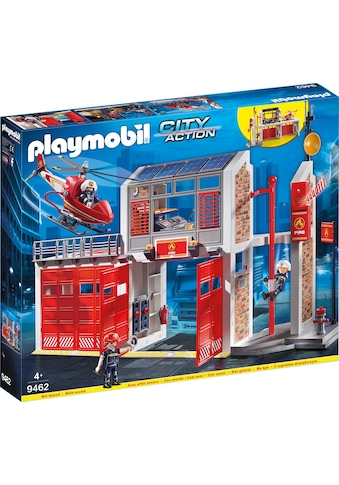 Playmobil® Konstruktions-Spielset »Große Feuerwache (9462), City Action«, Made in Germany kaufen