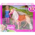 Barbie Anziehpuppe »Pferd mit Puppe«, Spielset