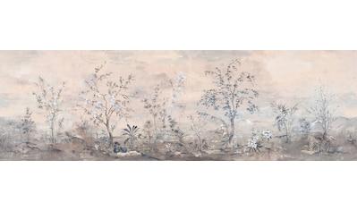 Komar Fototapete »Mandarin Morning«, floral-schimmernd-Silber-Optik kaufen