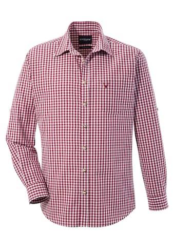 KRÜGER BUAM Trachtenhemd, im Allover Karodesign kaufen