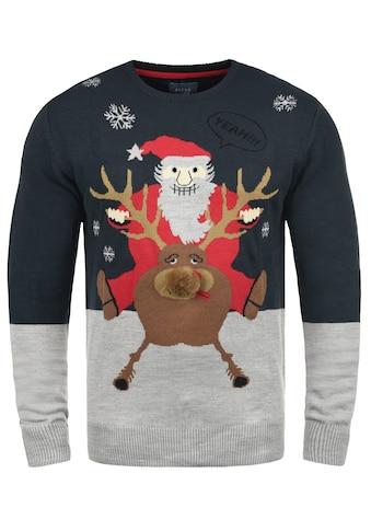 Blend Strickpullover »Rudolph«, Strickpulli mit Weihnachtsmotiv kaufen