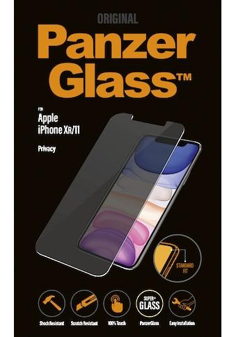 PanzerGlass Schutzglas »Privacy für Apple iPhone XR/11« kaufen