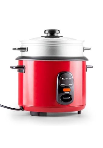 Klarstein Reiskocher Warmhaltefunktion Dampfkorb Dampfgareinsatz 1,5Liter »Osaka 1.5 Premium« kaufen