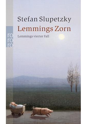 Buch »Lemmings Zorn / Stefan Slupetzky« kaufen