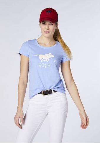 Polo Sylt T-Shirt »Women, T-Shirt, Regular Fit«, Kurzarm kaufen