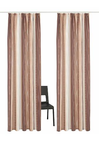 Vorhang, »Macias«, my home, Kräuselband 2 Stück kaufen
