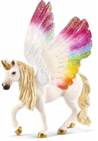 """Schleich® Spielfigur """"bayala, Geflügeltes Regenbogeneinhorn (70576)"""" kaufen"""