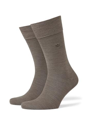 Burlington Socken »Leeds«, (1 Paar), mit Schurwolle kaufen