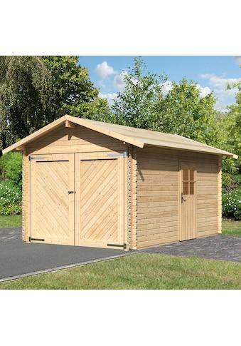 Karibu Garage »Stephan«, BxT: 338x489 cm, 193 cm Einfahrtshöhe kaufen