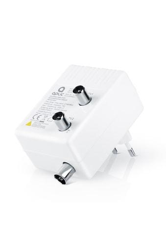 Aplic Antennen Verstärker für DVB-T2 / Kabel TV / Radio »Signalverstärkung von 2x 15 dB« kaufen