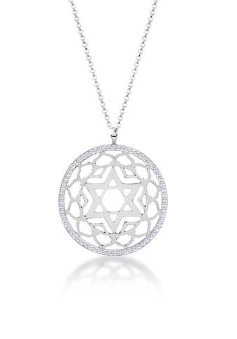 Nenalina Kette mit Anhänger »Anahata Chakra Kristalle 925 Silber« kaufen