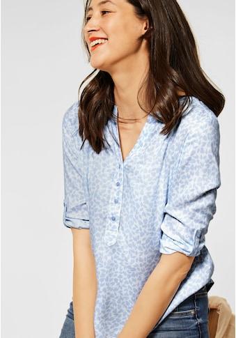 STREET ONE Klassische Bluse, mit Turn-Up Funktion kaufen