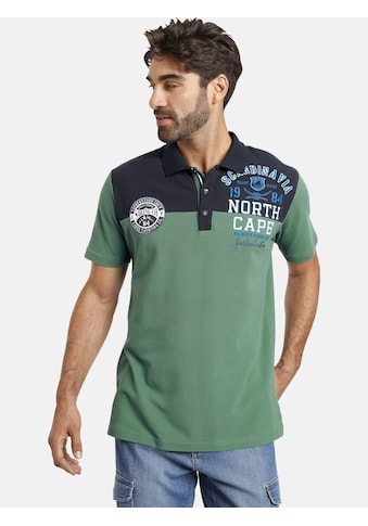 Jan Vanderstorm Poloshirt »RAMONT«, reine Baumwolle, Comfort Fit kaufen