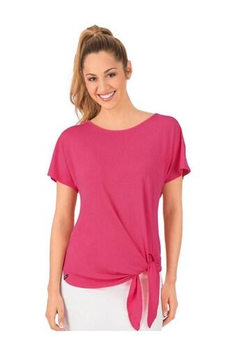 Trigema Viskose Shirt mit Bindeknoten kaufen
