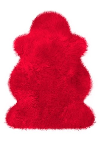 Heitmann Felle Fellteppich »Lammfell farbig«, fellförmig, 70 mm Höhe, echtes Austral.... kaufen