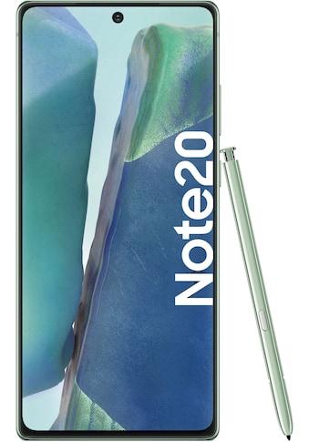 """Samsung Smartphone »Galaxy Note20«, (16,95 cm/6,7 """", 256 GB, 64 MP Kamera), 3 Jahre... kaufen"""