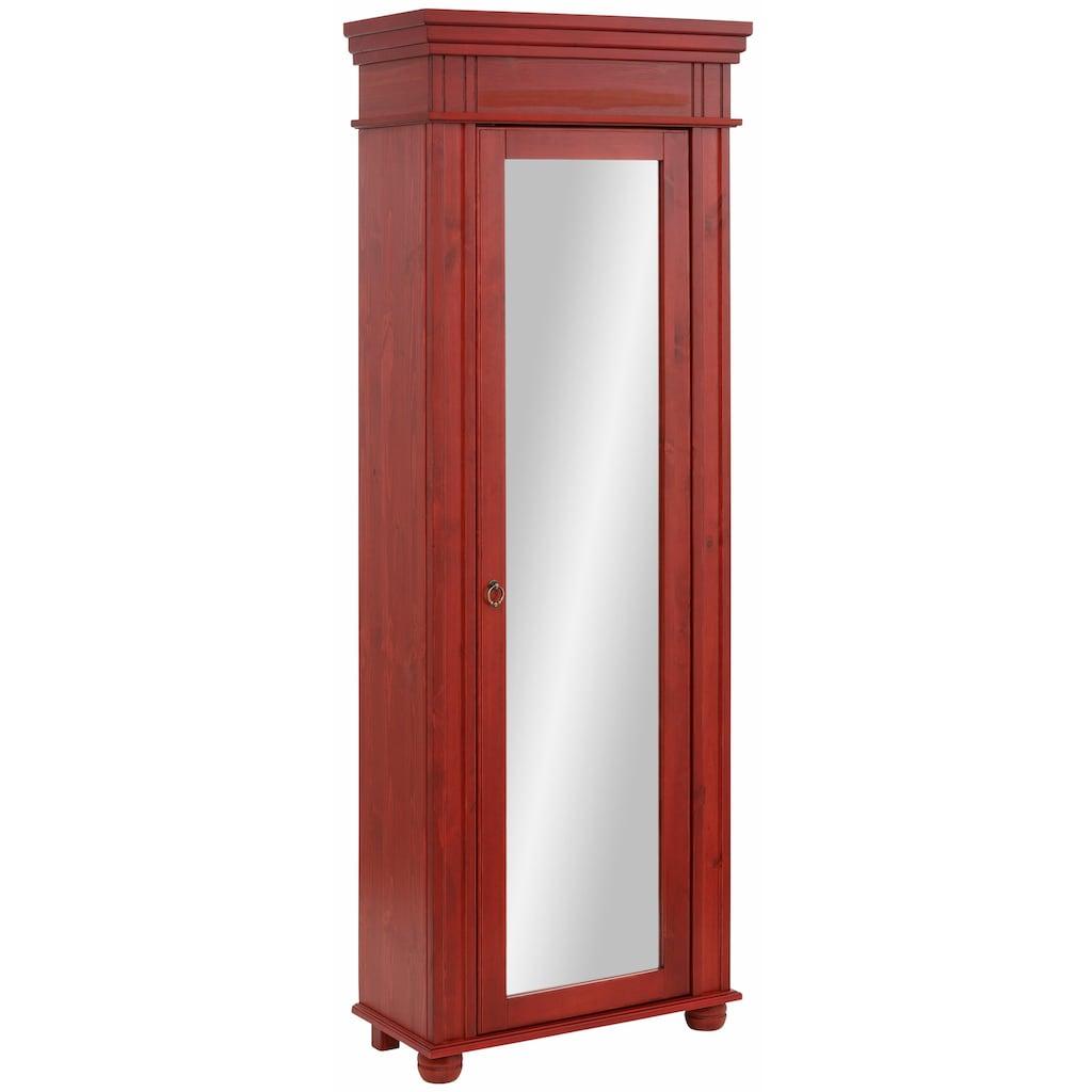Home affaire Schuhschrank »München«, Höhe 190 cm, mit großem Spiegel in der Tür