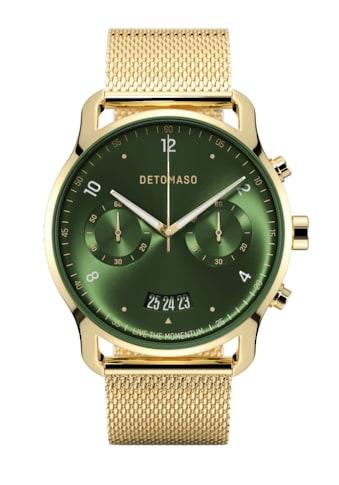 DETOMASO Chronograph »SORPASSO QUARZUHR LIMITED EDITION GOLD GREEN« kaufen