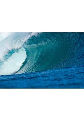 Papermoon Fototapete »Big Wave Big Barrel«, matt, BlueBack, 7 Bahnen, 350 x 260 cm kaufen